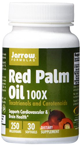 Jarrow Formulas Red Palm Oil Softgels, Supports Cardiovascular & Brain Health, 250 mg, 30 Softgels (Red Palm Oil Capsules compare prices)