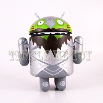 Android Series 3 Sir Knightly Bild Mini Figure Google By Andrew Bell - 1