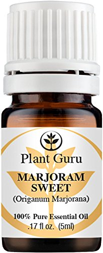 Marjoram Sweet Essential Oil. 5 ml. 100% Pure, Undiluted, Therapeutic Grade. Sample Size