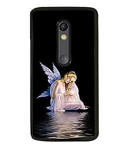 printtech Fairy Wings Angel Back Case Cover for Motorola Moto G3 , Motorola Moto G (3rd Gen)