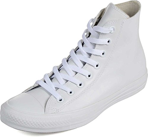 Converse Adult Chuck Taylor All Star Rubber White Shoes, Siz