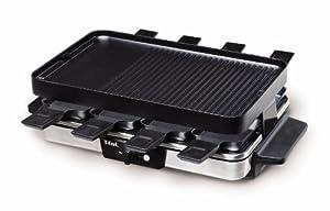 T-fal Reversible Raclette/Grill (Metallic)