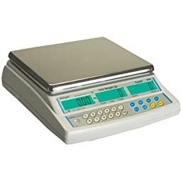 Adam Equipment CBC Counting Scale, 100lb/48kg Capacity and 0.005lb/2g Readability