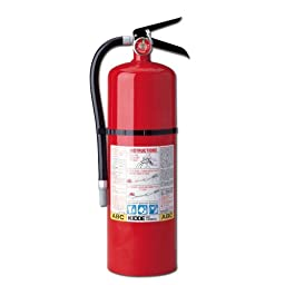 4 Pack Of - Kidde 466204 Pro 10 MP Fire Extinguisher, UL Rated 4-A, 60-B:C, Red
