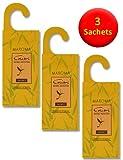 3 AUFHÄNGE-Sachets Anti-Motten Aufbewahrungssäckchen