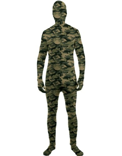 Camouflage Invisible Skin Suit Kids Costume