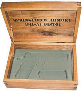 Amazon Com Springfield Armory Wooden Battery Box Single