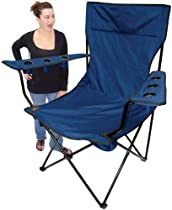 Hot Sale On The Edge 810202 Kingpin Giant Folding Chair (Blue)