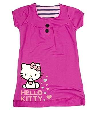 Hello Kitty Dress | for Girls 2 to 9 Years: Amazon.co.uk ...