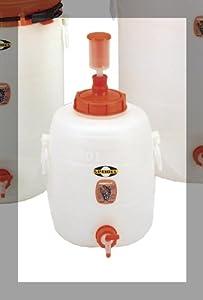 """Speidel - Cuve, fût de fermentation en plastique 20 L , avec couvercles, robinet et bonde de fermentation - """"Speidel"""""""