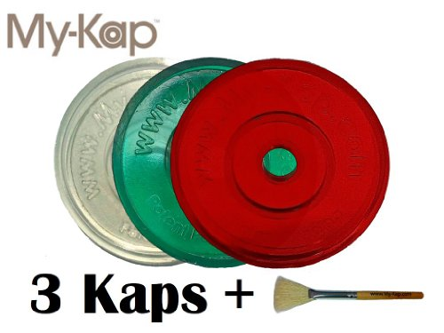 Kaps for K-Cups (3 + Brush) - Reuse Your Keurig K-Cups - Use your own Coffee - Over 100,000 Sold