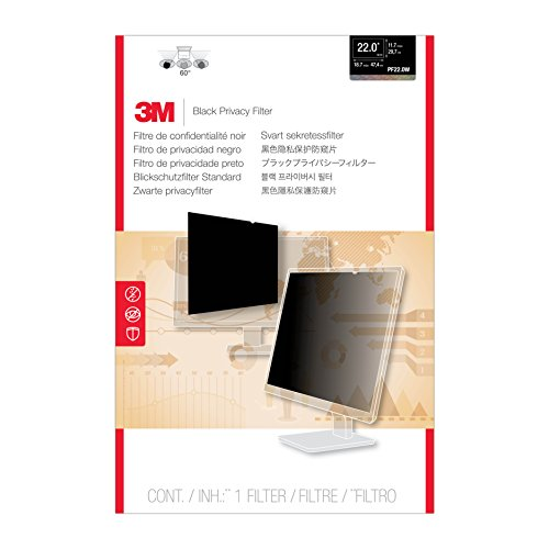 M Privacy Filter for Widescreen Desktop LCD Monitor 22.0