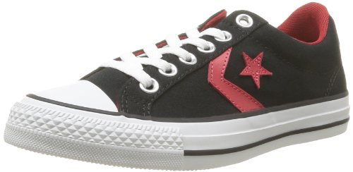 CONVERSE Unisex-Adult Star Player Ev Canvas Ox Trainers 235922-61-81 Noir 7.5 UK, 41 EU