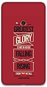 The Racoon Lean Glory hard plastic printed back case / cover for Nokia Lumia 625