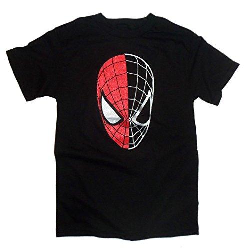 Spider-Man Half Gone Spidey Head mens t-shirt sf183ms