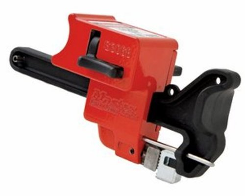 Master Lock Seal-Tight Handle-On Valve Lockout