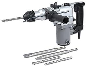Mannesmann M12590 Bohr- und Meisselhammer 850 Watt 3 Funktionen