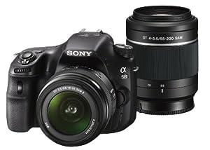Sony SLT-A58 - Cámara réflex digital de 20.0 Mp (pantalla de 3.0