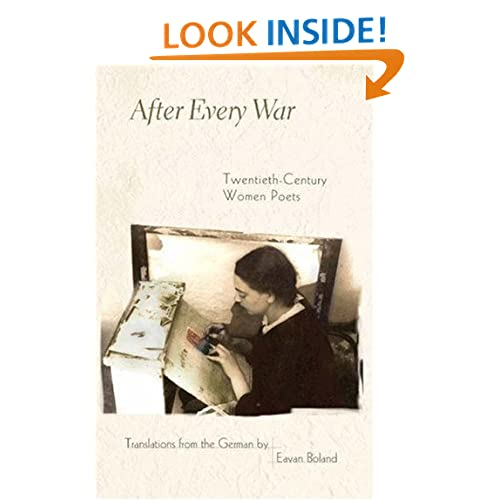 After Every War: Twentieth-Century Women Poets (Facing Pages)
