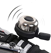 West Biking Bicycle Bell Chrome Plated Mountain Bike Road Accessories Alarm Ring Cycling Bells Horn