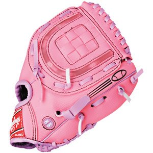Rawlings Lightning 8.5 inch Pink Youth Baseball or Softball Glove - LS85P