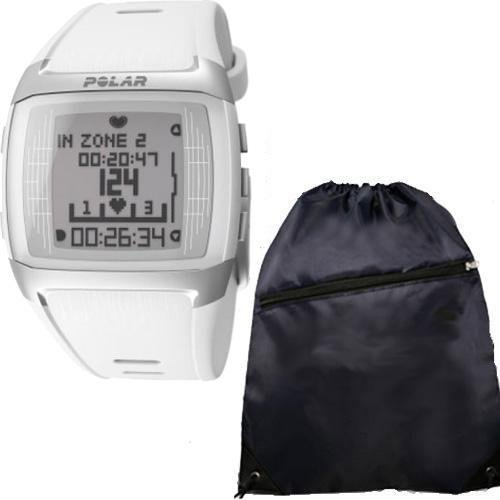 Polar FT60 90049592 Heart Rate Monitor Female White with Cinch Bag Reviews