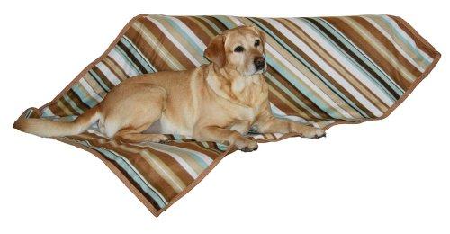 Kerbl-81256-Hundedecke-Calimero-140-x-100-cm-trkisbraun