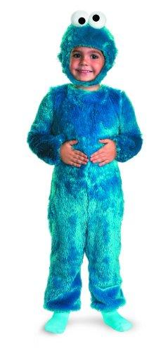 Cookie Monster Comfy Fur Costume - Medium (3T-4T)