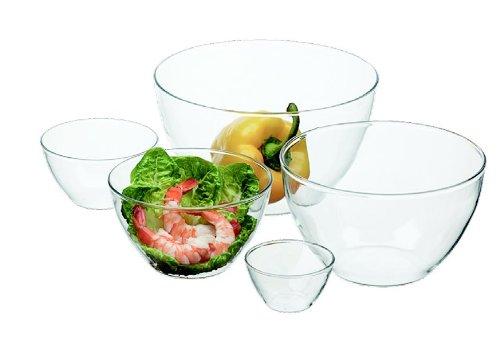 Simax Glassware 181 5-Piece Blown Bowl Set