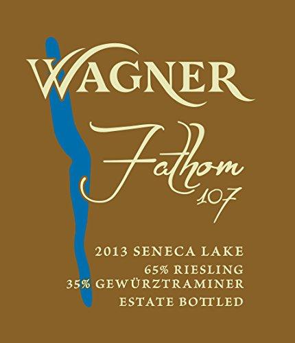 "2013 Wagner Vineyards ""Fathom 107"" Riesling-Gewurztraminer Blend 750 Ml"