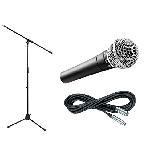 Shure Sm58, Stand & Cable Package (Standard)