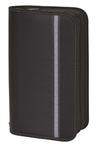 Case Logic ENW-104 104 Capacity Nylon CD Wallet (Black)