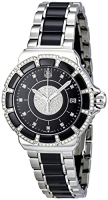 Tag Heuer Women's WAH1219.BA0859 Formula 1 Lady Black Dial Dress Watch