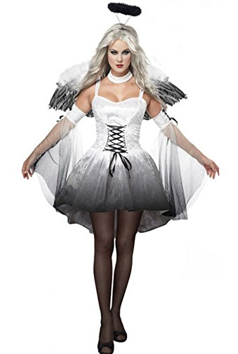 Lady Favorite Costumes Fallen Angel Dnd Angel Of Darkness Dress Costume