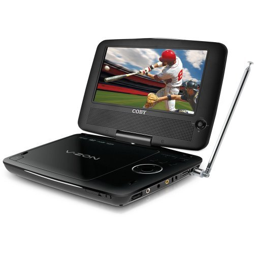Coby TFDVD7389A 7-Inch Portable DVD Player