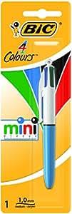 Bic 4 Colours Mini Blister de Stylo-Bille