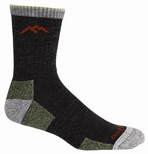 Buy Darn Tough Vermont Mens Merino Wool Micro Crew Cushion Hiking Socks by Darn Tough