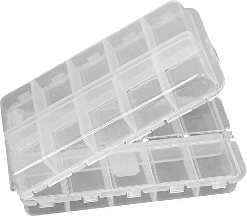 CSC-Universal-Box-klappbare-und-mit-einzeln-verschliebaren-Fchern-Zu-nutzen-als-Perlenbox-Sortierkasten-Aufbewahrungsbox-Sortierkiste-Sortimentskasten-Sortierbox-Pillendose-Perfekt-frs-Hobby-und-den-p