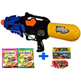 Darling Toys Holi Combo Pack (1 Water Gun+2 Herbal Gulal+1 Pack Balloon) - B01CA8LQUM