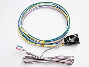 クルコンモニター【Type-W】3mm2色発光LED トヨタ汎用 クルーズコントロール表示灯 操作音無し エレクトロタップ付 オートパーツ工房