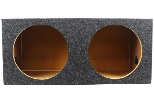 "Rockville Rd12 Dual 12"" 1.25 Cu.Ft. Sealed Subwoofer Enclosure With Grade A 3/4"" Mdf, Made In America Using Only The Highest Quality Materials For The Best Performance And Sound From Your Subs"