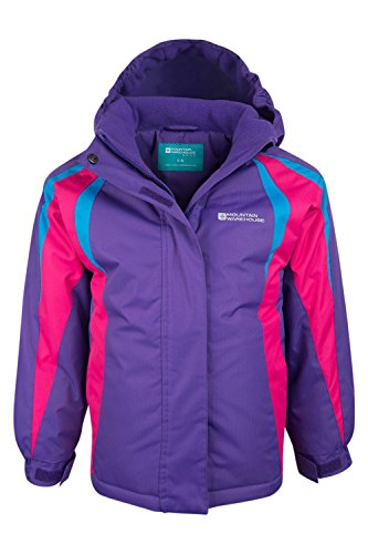 Mountain Warehouse Giacca da neve per bambini Honey Viola 116