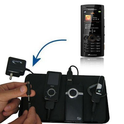 Gomadic Advanced Sony Ericsson W902 4-port Charging Station - Uses TipExchange Technology to charge up to four devices simultaneously