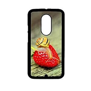 Vibhar printed case back cover for Motorola Moto G (3rd Gen) FruitInsert