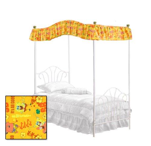 Twin Size Spongebob Squarepants & Patrick Themed Canopy Top Fabric front-1019908