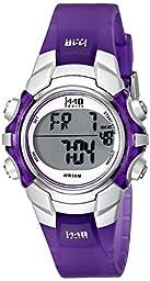 Timex Women\'s T5K459 1440 Sports Digital Purple Resin Watch
