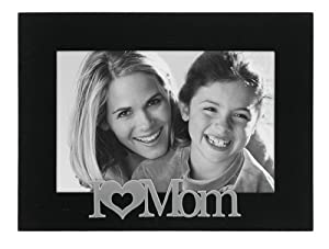 Malden I love Mom Expressions Frame, 4 by 6-Inch