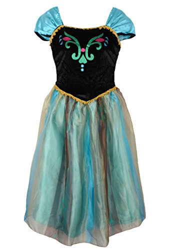 Eyekepper Women's Frozen Princess Anna Dress Cosply Costume Adult