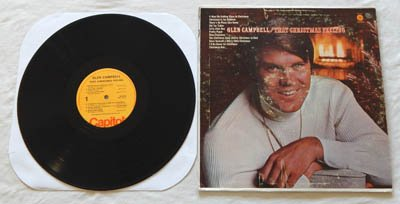 Glen Campbell - Glen Campbell Lp That Christmas Feeling - Capitol Records - 11 Classic Songs - Zortam Music