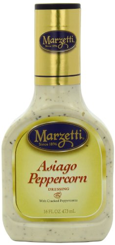 Marzetti Dressings, Asiago Peppercorn, 16 Ounce (Pack of 6)